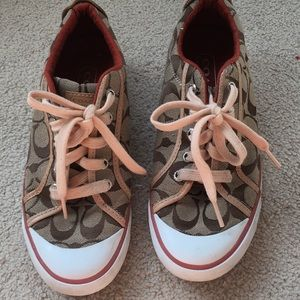 Coach Vintage Sneakers Size 7 1/2